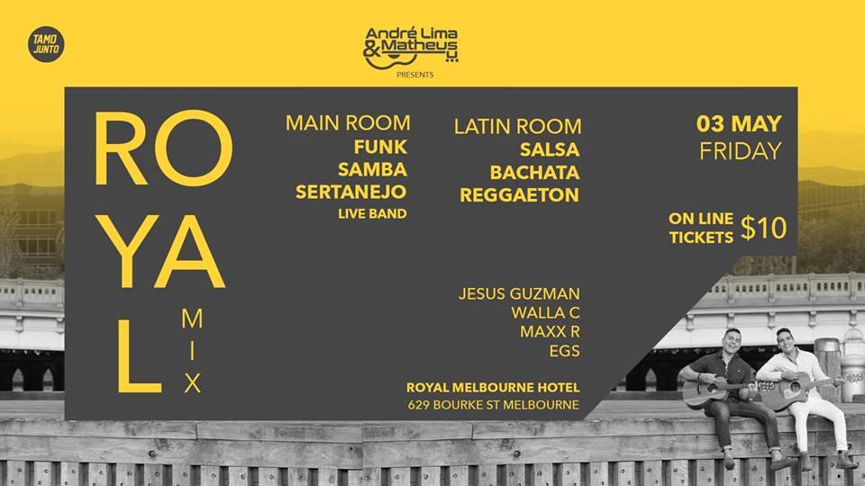 3 Royal Mix // André Lima & Matheus live