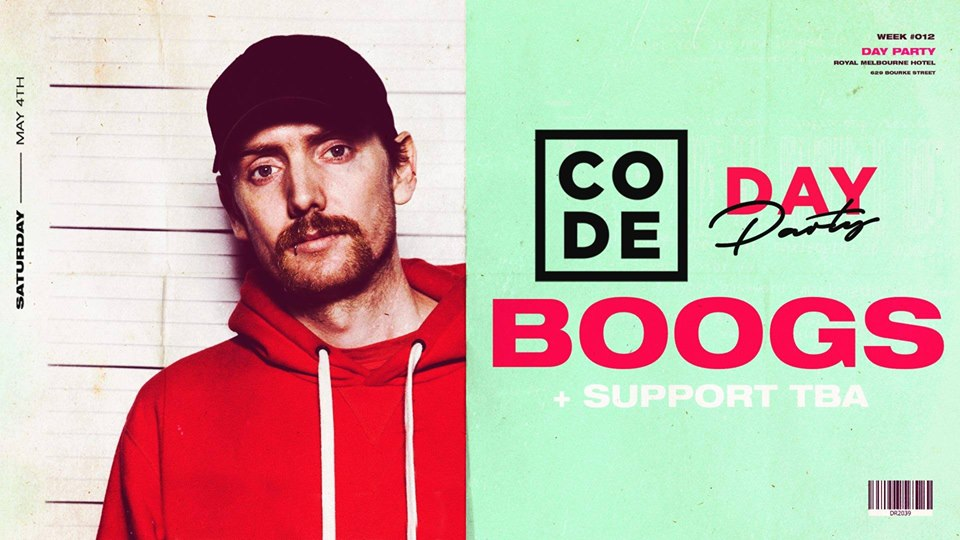 CODE Day Party — BOOGS